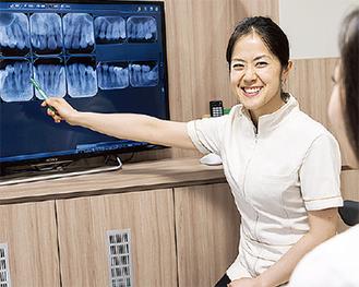 予防、メンテナンス専門の歯科衛生士 杉山さん