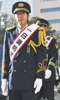 防火パレードをする中村憲剛選手