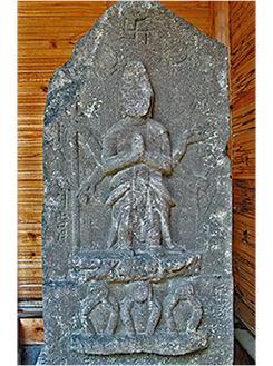 戒翁寺の庚申塔