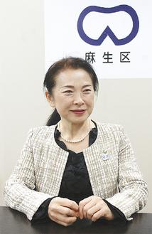 新総合計画に伴い地域課題に改めて向き合う北沢区長