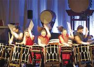 和太鼓と和楽器の競演