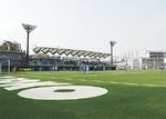 人工芝化された新サッカー場
