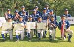 準優勝の金程少年野球部