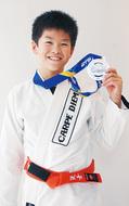 世界初挑戦で銀メダル