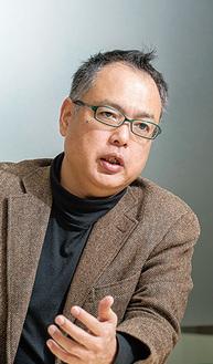 講師の神戸氏(写真・授産学園提供)
