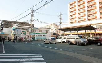 現在の柿生駅南口