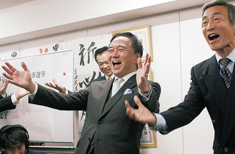 「笑い」で喜ぶ黒岩氏