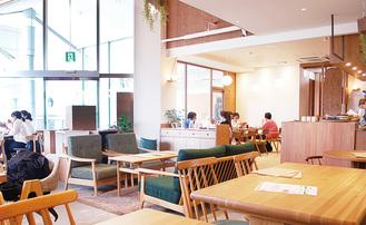 栗平駅前に3月オープンした「CAFE&SPACE L.D.K」