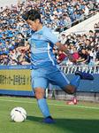 昨年末の選手権県予選での西川選手