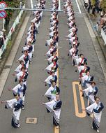 手作りの区民祭