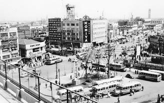 昭和34年の川崎駅前 森田良和氏撮影