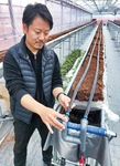 AI活用で収納環境改善を図る山田さん