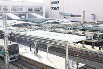 輸送力強化を図る新百合ヶ丘駅