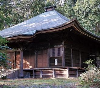 菩薩像が拝める王禅寺の観音堂