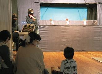 子どもも大人も楽しめる人形劇