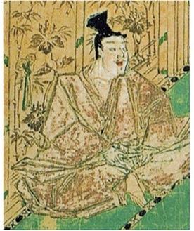 図 安達泰盛(蒙古襲来絵詞)