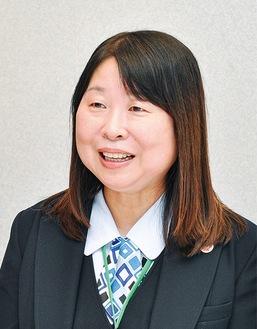 支配人羽根田 豊子さん