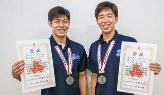 小嶋さん(左)と上川畑さん