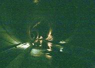 地下トンネル仕組み学ぶ