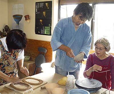 「橘陶房」陶芸教室新規生徒を大募集