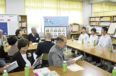 61年振りの学校訪問