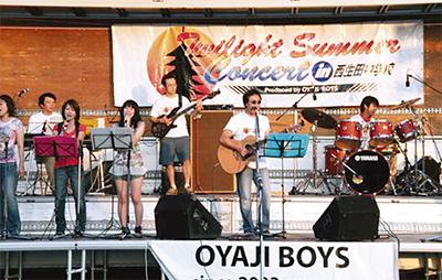 夏の夜の恒例コンサート