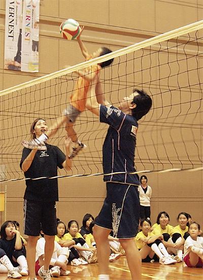 元全日本選手が直接指導