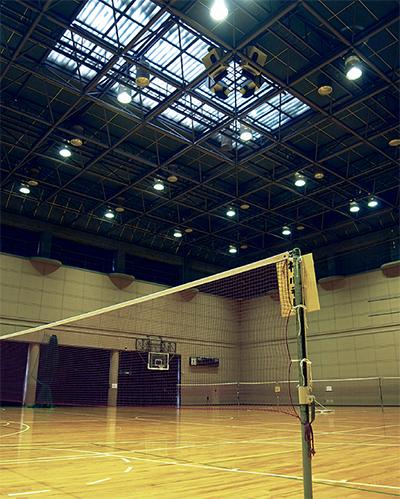 体育室の照明一新