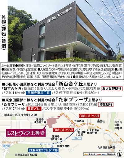 ワタミの介護付有料老人ホーム麻生区王禅寺にオープン