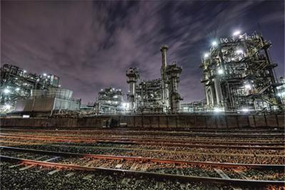 川崎の工場夜景が最優秀