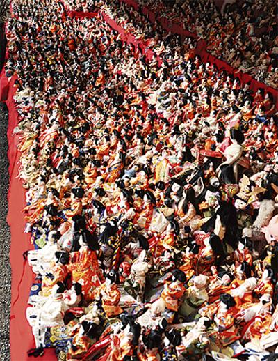 人形浄火和め祭を実施