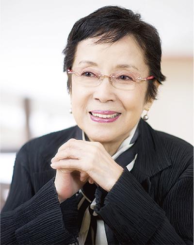 奈良岡朋子さんが一人舞台