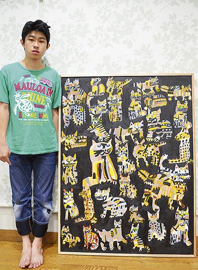 「学生美術の祭典」で準大賞