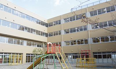 増築校舎が竣工
