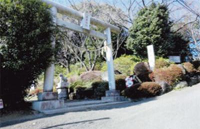 麻生の古道(4)高石の古道