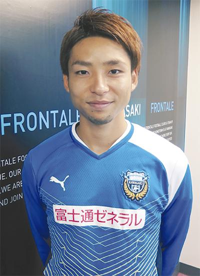 小林選手が初代表