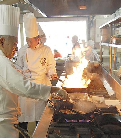 料理の腕前で地域貢献