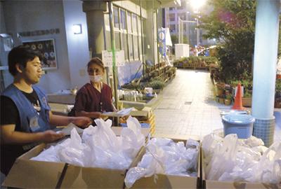 区職員 熊本で支援活動