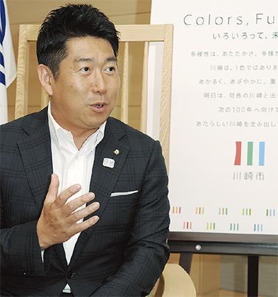 「多様性で川崎の未来を」