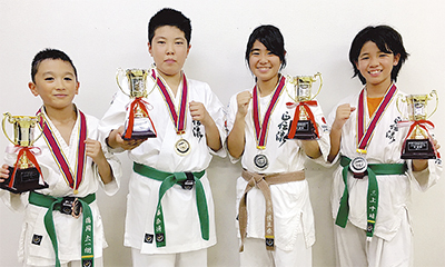 全日本選手権で活躍