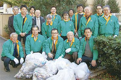 新ゆり駅周辺で清掃活動