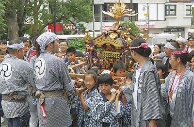 高石神社で例大祭