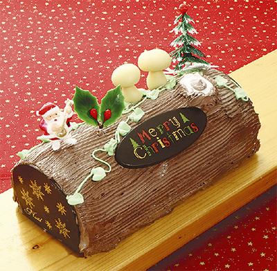 クリスマスケーキはハルキへ