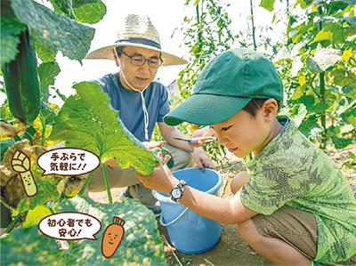 あぐりっこ農園で農園生活始めませんか!