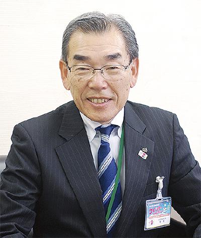 記念事業実行委員長 梶 稔さん