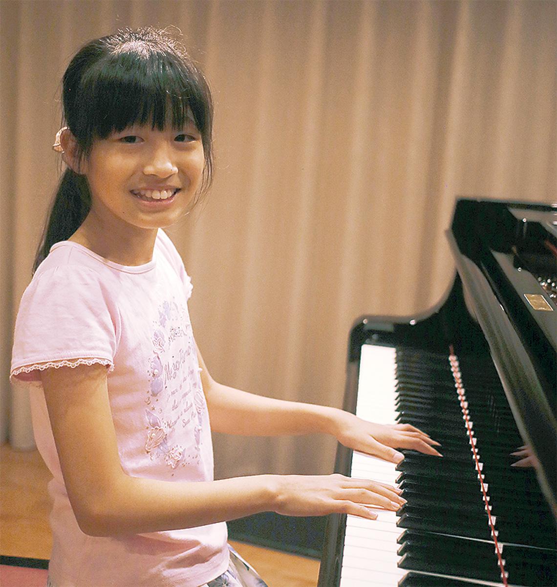 ピアノで全国大会へ