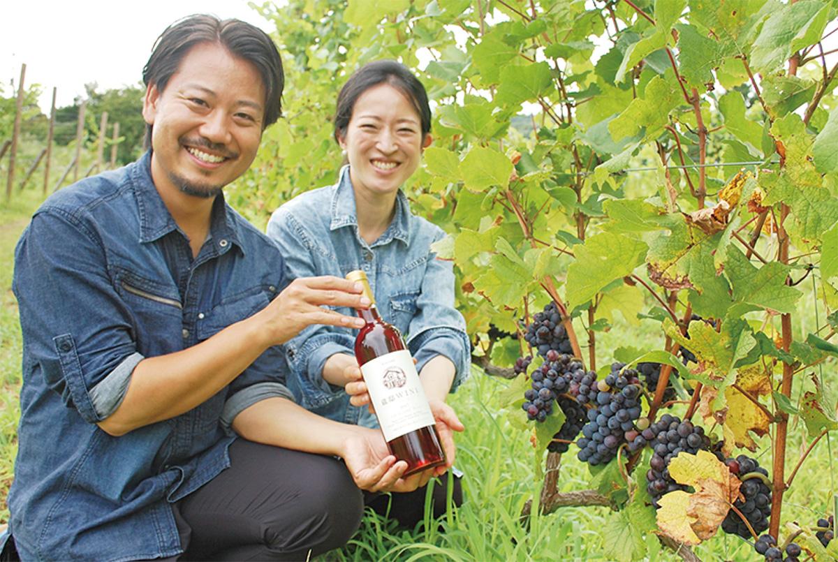 初の「川崎ワイン」完成
