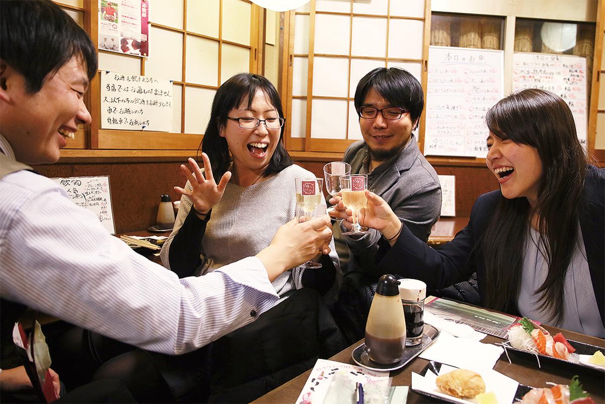 日本ワインではしご酒