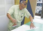 壁紙を使った内装工事に優れた技術を持つ井原さん
