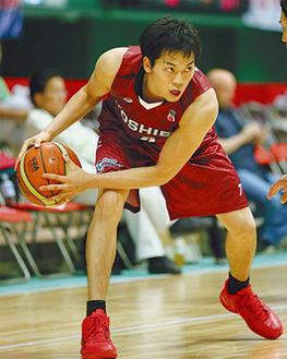 今年から主将を務める篠山竜青選手